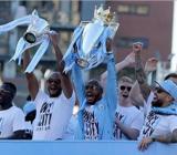 CĐV Man City ăn mừng chức vô địch Premier League mùa giải 2017/18.